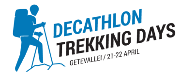 Logo decathlon trekking days